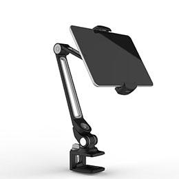 Apple iPad Mini 3用スタンドタイプのタブレット クリップ式 フレキシブル仕様 T43 アップル ブラック