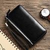 ハンドバッグ ポーチ 財布型ケース レザー ユニバーサル H32 ブラック