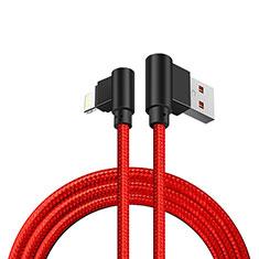 Apple iPad 10.2 (2020)用USBケーブル 充電ケーブル D15 アップル レッド