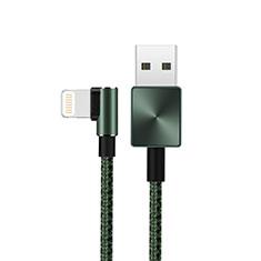 Apple iPad 10.2 (2020)用USBケーブル 充電ケーブル D19 アップル グリーン
