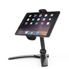 Apple iPad 10.2 (2020)用スタンドタイプのタブレット クリップ式 フレキシブル仕様 K08 アップル ブラック