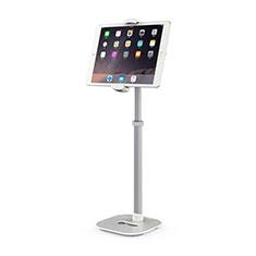 Apple iPad 10.2 (2020)用スタンドタイプのタブレット クリップ式 フレキシブル仕様 K09 アップル ホワイト