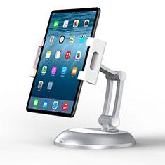 Apple iPad 10.2 (2020)用スタンドタイプのタブレット クリップ式 フレキシブル仕様 K11 アップル シルバー