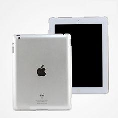 Apple iPad 2用極薄ケース クリア透明 プラスチック アップル ホワイト