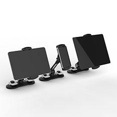 Apple iPad 2用スタンドタイプのタブレット クリップ式 フレキシブル仕様 H11 アップル ブラック