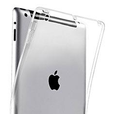Apple iPad 3用極薄ソフトケース シリコンケース 耐衝撃 全面保護 クリア透明 アップル クリア