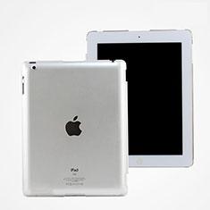Apple iPad 3用極薄ケース クリア透明 プラスチック アップル ホワイト