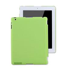 Apple iPad 3用ハードケース プラスチック 質感もマット アップル グリーン