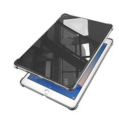 Apple iPad Air 2用極薄ソフトケース シリコンケース 耐衝撃 全面保護 クリア透明 H01 アップル ブラック