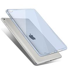 Apple iPad Air 2用極薄ソフトケース シリコンケース 耐衝撃 全面保護 クリア透明 アップル ブルー