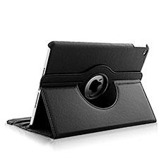 Apple iPad Air 2用回転式 スタンド レザーケース アップル ブラック