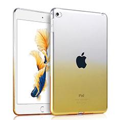 Apple iPad Air 2用極薄ソフトケース グラデーション 勾配色 クリア透明 アップル イエロー