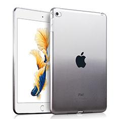Apple iPad Air 2用極薄ソフトケース グラデーション 勾配色 クリア透明 アップル グレー