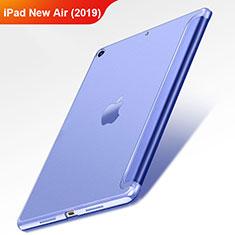 Apple iPad Air 3用手帳型 レザーケース スタンド L01 アップル ネイビー