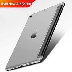 Apple iPad Air 3用手帳型 レザーケース スタンド L01 アップル ブラック