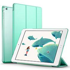 Apple iPad Air用手帳型 レザーケース スタンド L01 アップル グリーン