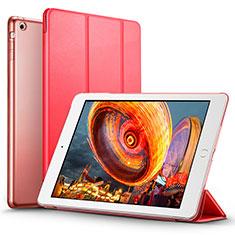 Apple iPad Air用手帳型 レザーケース スタンド L01 アップル レッド