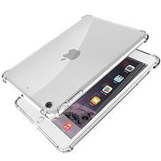 Apple iPad Mini 3用極薄ソフトケース シリコンケース 耐衝撃 全面保護 クリア透明 H01 アップル クリア