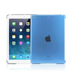 Apple iPad Mini 3用極薄ケース クリア透明 プラスチック アップル ブルー