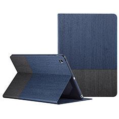 Apple iPad Mini 3用手帳型 レザーケース スタンド L02 アップル ネイビー