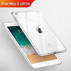 Apple iPad Mini 5 (2019)用極薄ソフトケース シリコンケース 耐衝撃 全面保護 クリア透明 T03 アップル クリア