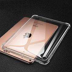 Apple iPad Mini 5 (2019)用極薄ソフトケース シリコンケース 耐衝撃 全面保護 クリア透明 H01 アップル クリア
