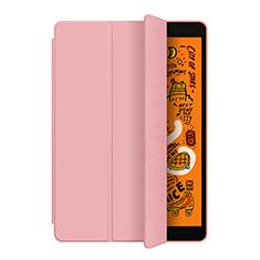 Apple iPad Mini 5 (2019)用手帳型 レザーケース スタンド L04 アップル ローズゴールド