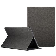 Apple iPad Mini用手帳型 レザーケース スタンド L01 アップル ブラック