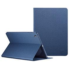 Apple iPad Mini用手帳型 レザーケース スタンド L04 アップル ネイビー