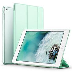 Apple iPad Mini用手帳型 レザーケース スタンド L06 アップル グリーン