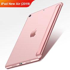 Apple iPad New Air (2019) 10.5用手帳型 レザーケース スタンド L01 アップル ローズゴールド