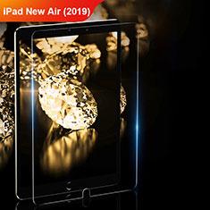 Apple iPad New Air (2019) 10.5用強化ガラス 液晶保護フィルム T01 アップル クリア