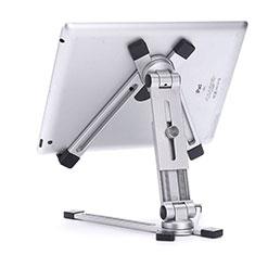 Apple iPad New Air (2019) 10.5用スタンドタイプのタブレット クリップ式 フレキシブル仕様 K19 アップル シルバー