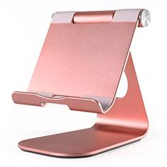 Apple iPad New Air (2019) 10.5用スタンドタイプのタブレット クリップ式 フレキシブル仕様 K23 アップル ローズゴールド