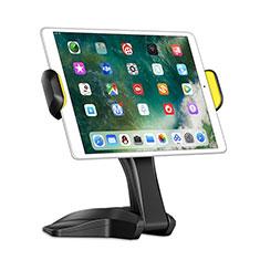 Apple iPad New Air (2019) 10.5用スタンドタイプのタブレット クリップ式 フレキシブル仕様 K03 アップル ブラック