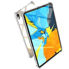 Apple iPad Pro 11 (2018)用極薄ソフトケース シリコンケース 耐衝撃 全面保護 クリア透明 H01 アップル クリア
