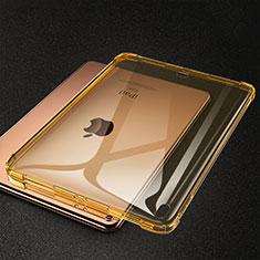 Apple iPad Pro 11 (2018)用極薄ソフトケース シリコンケース 耐衝撃 全面保護 クリア透明 S01 アップル イエロー