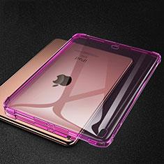 Apple iPad Pro 11 (2018)用極薄ソフトケース シリコンケース 耐衝撃 全面保護 クリア透明 S01 アップル ピンク