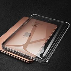 Apple iPad Pro 11 (2018)用極薄ソフトケース シリコンケース 耐衝撃 全面保護 クリア透明 S01 アップル グレー