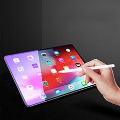 Apple iPad Pro 11 (2018)用アンチグレア ブルーライト 強化ガラス 液晶保護フィルム B02 アップル クリア