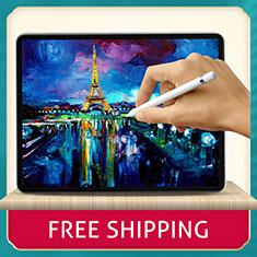Apple iPad Pro 11 (2020)用強化ガラス 液晶保護フィルム T05 アップル クリア