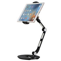 Apple iPad Pro 11 (2020)用スタンドタイプのタブレット クリップ式 フレキシブル仕様 H08 アップル ブラック