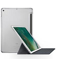 Apple iPad Pro 12.9 (2017)用手帳型 レザーケース スタンド アップル クリア
