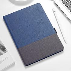 Apple iPad Pro 12.9 (2018)用手帳型 レザーケース スタンド アップル ネイビー・ブラック