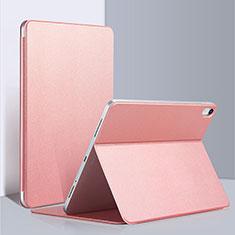 Apple iPad Pro 12.9 (2018)用手帳型 レザーケース スタンド L03 アップル ピンク