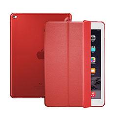 Apple iPad Pro 12.9用手帳型 レザーケース スタンド アップル レッド