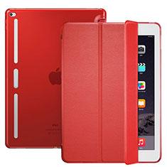 Apple iPad Pro 12.9用手帳型 レザーケース スタンド L02 アップル レッド