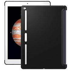 Apple iPad Pro 12.9用シリコンケース ソフトタッチラバー アップル ブラック
