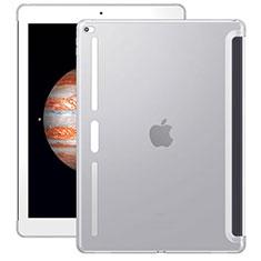 Apple iPad Pro 12.9用極薄ソフトケース シリコンケース 耐衝撃 全面保護 クリア透明 アップル ホワイト