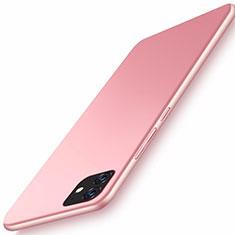 Apple iPhone 11用ハードケース プラスチック 質感もマット カバー M01 アップル ローズゴールド
